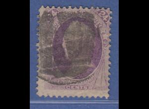 USA 1870 Gen. Winfield Scott 24 Cent Mi.-Nr. 44 gestempelt