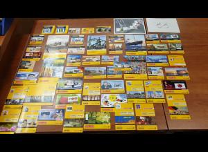 Deutschland 2000-2013 Sammlung 55 versch. Markenheftchen ** Frankatur fast 420 €