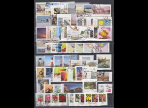 Bundesrepublik Lot 73 verschiedene Selbstklebende mit Ersttags-Stempel 2007-2013