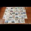 Bundesrepublik Lot 131 verschiedene Messe-Briefe der Dt. Post, aus Abo-Bezug