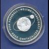 10-€-Gedenkmünze PP, Fussball WM, Ausgabe 2004, Polierte Platte, Spiegelglanz