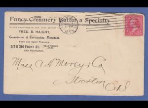 "USA Postkarte ""Sincere Regards and Affection"" gel. 1914, u.a Hakenkreuze"