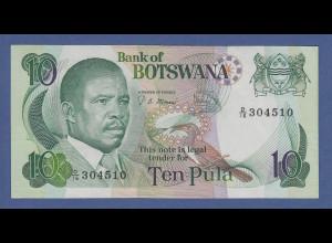 Banknote Botswana 10 Pula