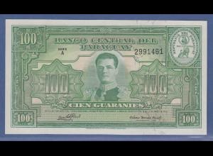 Banknote Paraguay 100 Guaranies Mariscal Jose F. Estigarribia