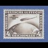 Deutsches Reich Zeppelin 4 RM Südamerikafahrt Mi.-Nr. 439 X ungebraucht *