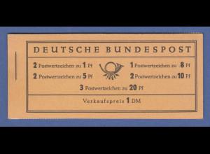Bundesrepublik Heuss Markenheftchen Mi.-Nr. MH 4 Y II postfrisch **