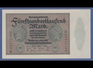 Banknote Deutsches Reich 500000 Mark # 87b in guter kassenfrischer Erhaltung !