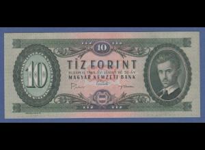 Banknote Ungarn 10 Forint 1969