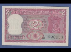 Banknote Indien 2 Rupien Mahatma Gandhi