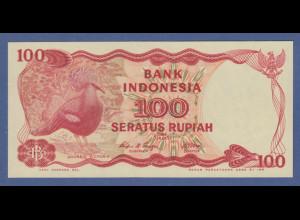Banknote Indonesien 100 Rupien 1984