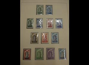 Europa-CEPT Sammlung von 1956-1969 kpl ** in 1A-Qualität. Michel über 1450 € !