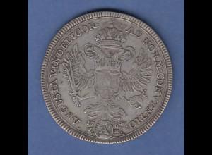 Augsburg AUGUSTA VINDELICORUM Freie Reichsstadt Konventionstaler Franz I. 1764