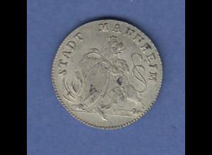 Gedenkmünze Mannheim auf Carl Theodors 50jaehriger Jubelfeier 31. Dez. 1792