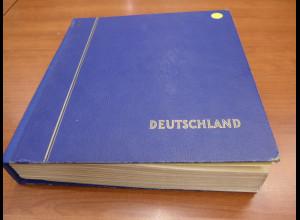 Sammlung Bundesrepublik 1949-1990 in den Hauptnummern komplett O im Schaubek-A.