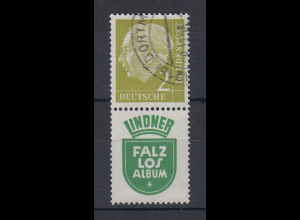Bundesrepublik Heuss-Zusammendruck Mi.-Nr. S39 gestempelt Dortmund