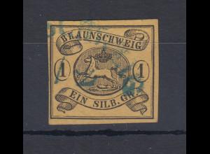 Altdeutschland Braunschweig 1 Silber-Groschen Mi.-Nr. 6 a Y gestempelt