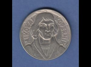 Polen / Polska Gedenkmünze 10 Zloty Kopernikus 1959