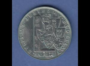 Polen / Polska Gedenkmünze 10 Zloty 25 Jahre Westverschiebung 1970