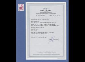 Bund 1972 Unfallverhütung 40 Pfg Rollenmarke mit BLAUER Zählnummer ** ATTEST