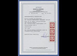 Bund Bed. Deutsche gewöhnl. Pap. Mi.-Nr. 352 x ROLLENANFANG mit Zählnummer 500