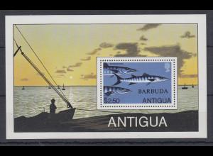 Antigua und Barbuda Mi.-Nr. Block ? postfrisch ** / MNH Barracuda