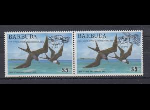 Barbuda Mi.-Nr. Satz 227-228 postfrisch ** / MNH Möwen