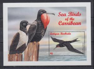 Antigua und Barbuda Mi.-Nr. Block ? postfrisch ** / MNH Seevögel der Karbik