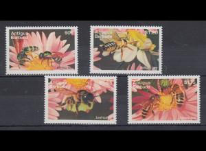 Antigua und Barbuda Mi.-Nr. Satz 2217-2220 postfrisch ** / MNH Bienen