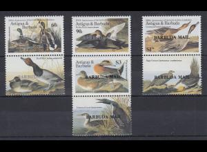 Antigua und Barbuda Mi.-Nr. Satz 925-928 postfrisch ** / MNH Enten
