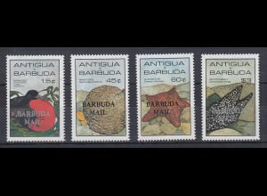 Antigua und Barbuda Mi.-Nr. Satz 839-842 postfrisch ** / MNH Meer BARBUDA MAIL