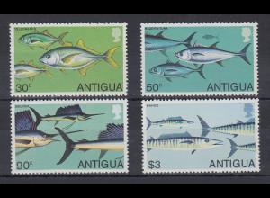 Antigua und Barbuda Mi.-Nr. Satz 543-546 postfrisch ** / MNH Fische
