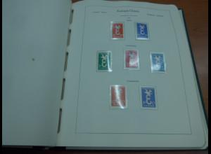 Europa-CEPT, Sammlung von 1958-1973 fast kpl. **, dazu viele Mitläufer ect...