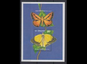 St. Vincent Mi.-Nr. Block ? postfrisch ** / MNH Schmetterlinge