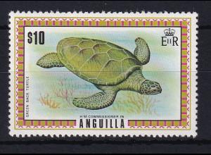 Anguilla 1975 Mi.-Nr. 216 postfrisch ** / MNH Schildkröte