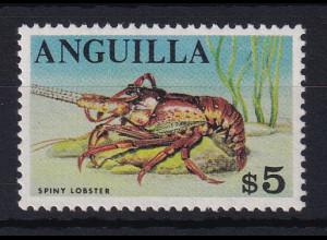Anguilla 1968 Mi.-Nr. 31 postfrisch ** / MNH Languste