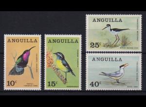 Anguilla 1968 Mi.-Nr. 36-39 Satz postfrisch ** / MNH Vögel