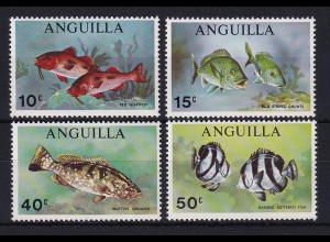 Anguilla 1969 Mi.-Nr. 83-86 Satz postfrisch ** / MNH Fische