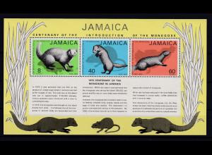 Jamaika 1973 Mi.-Nr. Block 4 postfrisch ** / MNH Mungo