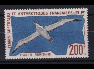 Französische Antarktis 1959 Mi.-Nr. 18 postfrisch ** / MNH Vogel