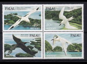 Palau 1984 Mi.-Nr. 47-50 postfrisch **/ MNH Vögel