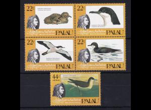 Palau 1985 Mi.-Nr. 65-69 postfrisch **/ MNH Sturmtaucher