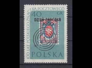 Polen / Polska 1960 Tag der Briefmarke Mi.-Nr. 1187 **