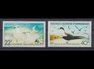 Neukaledonien 1978 Seevögel: Seeschwalben Satz Mi.-Nr. 606-07 **