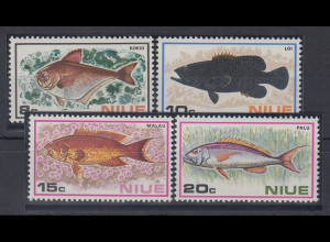 Niue 1973 Fische Mi.-Nr. 133-36 **