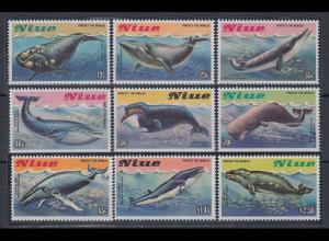 Niue 1983 Wale Mi.-Nr. 502-510 **
