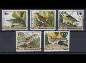 Niue 1985 200. Geburtstag John James Audubon Mi.-Nr. 608-12 **