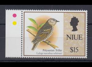 Niue 1993 Freimarke: Vögel Mi.-Nr. 835 **