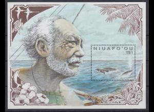 Niuafo'ou 1991 ornithologische und wissenschaftl. Expedition Mi.-Nr. Block 12 **