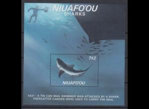 Niuafo'ou 1987 Haie Mi.-Nr. Block 5 **