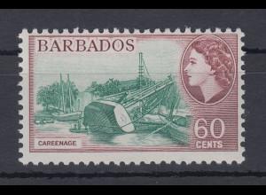 Barbados Einzelmarke Mi.-Nr. 231 postfrisch ** / MNH Schiff